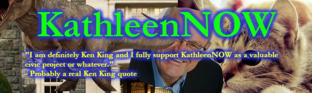 By supporting KathleenNOW you get the satisfaction of knowing I will get a mansion and a T-Rex sooner rather than later.